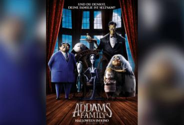"""Kino-Comeback """"Die Addams Family"""". feiert Wiedersehen."""