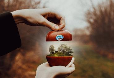 Der Apfel fällt nicht weit vom Stamm: Influencefire setzt für Kanzi Instagram-Kampagne um
