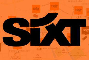 Mobile Sixt-Kampagne im Pushfire-Netzwerk.