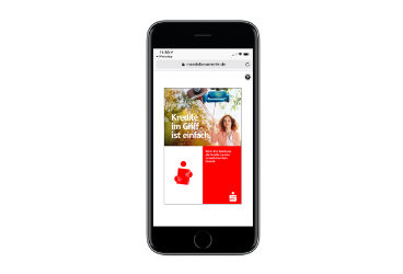 Sparkasse: Karriere-Kickstart über mobile Kampagne