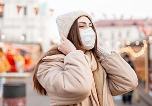 Testimonial-Kampagne pro Maskenpflicht