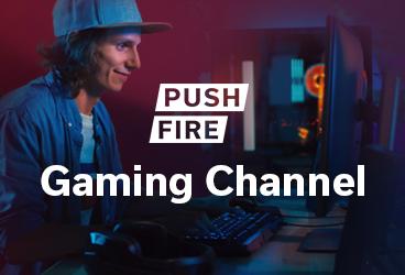 High-Score für Ihre Kampagne: Pushfire launcht Gaming-Channel.