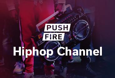 MC Pushfire launcht Hip Hop Channel.